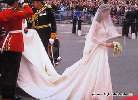 Kate Middleton's Wedding Dress by Sarah Burton