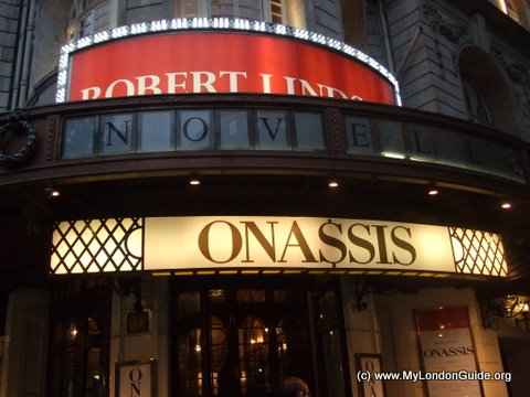 Onassis at the Novello Theatre