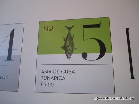 Asia de Cuba Ceviche Pop Up