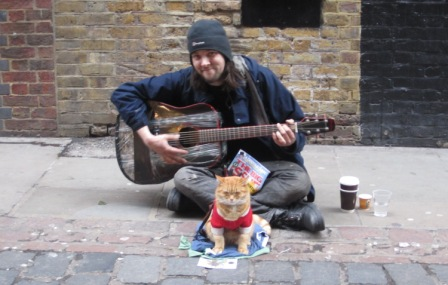 London's Celebrity Cat – Big Issue Bob