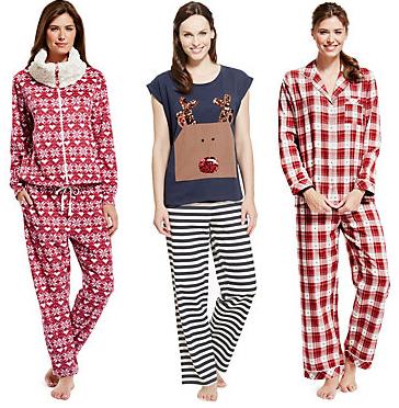 M&S pajamas and onesies