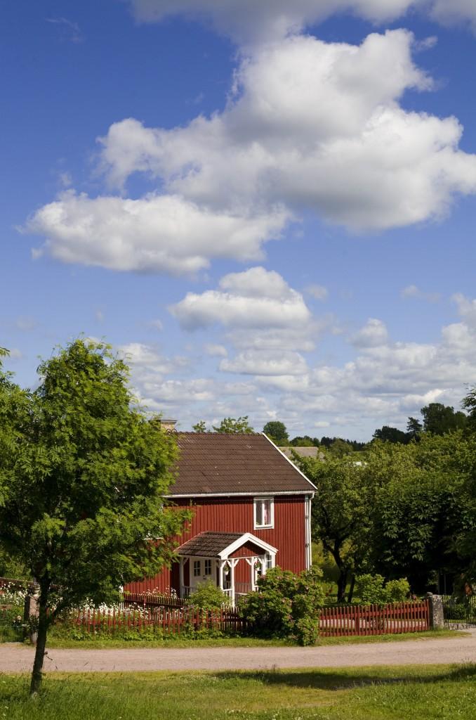 Visit Sweden Red Cottage