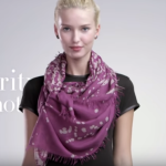 How to tie a scarf – 16 ways with 4 different shape scarves