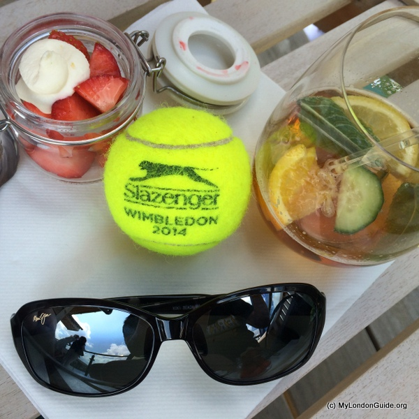 maui jim sunglass at Wimbledon