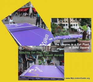 Ping Pong in London