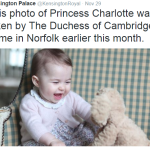 Cute First Pics of Princess Charlotte