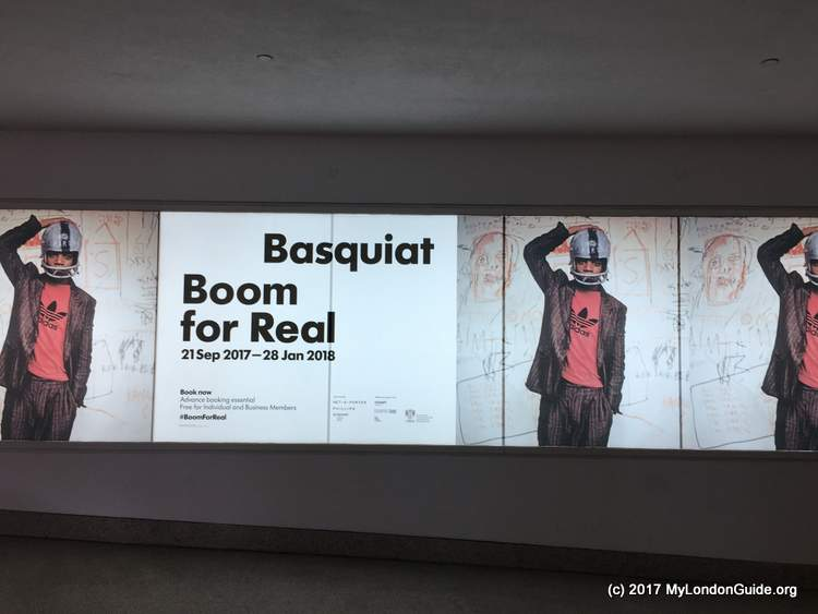 Basquiat Exhibition Barbican Centre