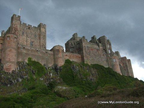 Northumberland Coast Bambrugh Castle