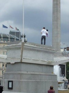 Fourth Plinth Trafalgar Square