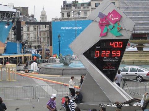 Olympics 2012 Countdown Clock