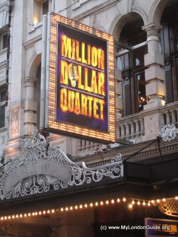 Million Dollar quartet at Noel Coward Theatre