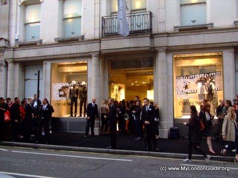 Emporio Armani Shop Bond Street