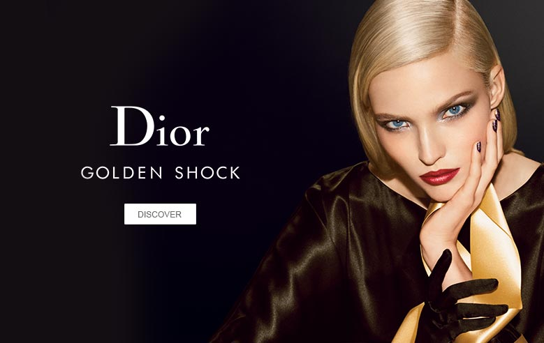 dior golden shock range